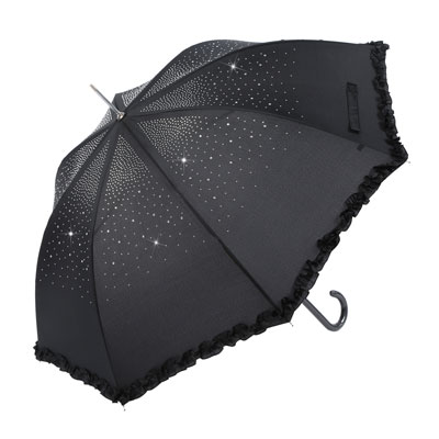 Diamante-Umbrella-Black