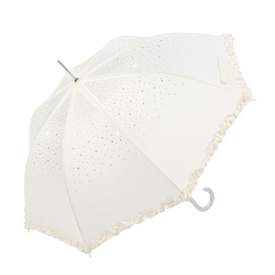 Diamante-Umbrella-Cream