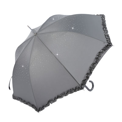 Diamante-Umbrella-Grey