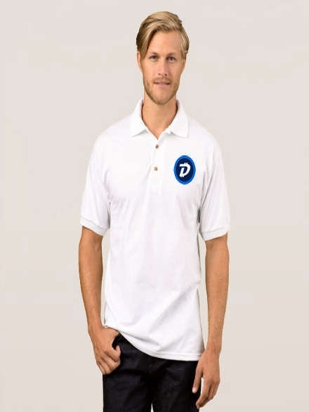 Digibyte-Polo-White